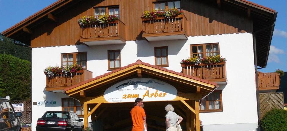 Ferien Und Aktivhotel Zum Arber Bodenmais Urlaub Bayerischer Wald
